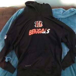 NFL official bengals hoodie